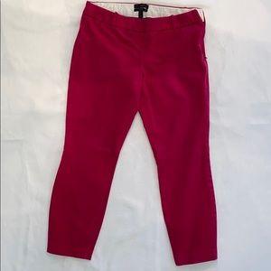 Perfect condition JCrew Minnie Capri pants
